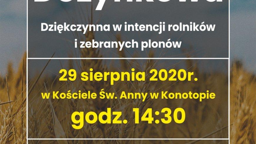 Msza Dożynkowa 2020